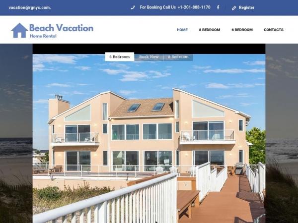 beachvacationhomerental.com